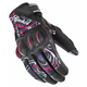 Womens Black/Pink/Purple Cyntek Gloves