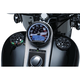 Gloss Black Alley Cat LED Fuel and Battery Gauge - 7383