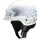 White/Silver Nomad Hellfire Helmet