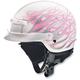 White/Pink Nomad Hellfire Helmet