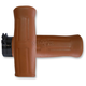 Tan Old School Rubber Grips - OLD-69-TAN