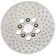Front 10 in. Stainless Steel Drilled Brake Rotor - 1710-1909
