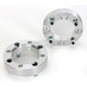 1.5 in. Aluminum Wheel Spacers with 12mm Studs - 0222-0435
