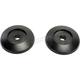 Black Pivot Plate Cover Set for MX-9 Adventure Helmets - 8031113