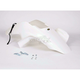 Racing ATV White Front Fender - 117231