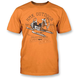 Orange Old School T-Shirt