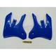 YZ Blue Radiator Shrouds - 2043840211