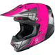 Neon Pink/Gray/Silver CL-X7 MC-8 Cross-Up Helmet