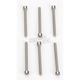 Stainless Steel Screw Kit for the 4 in. External Disc Series Exhaust - 404-7206