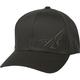 Black F-Wing FlexFit Hat