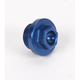 Aluminum Blue Oil Filler Plug - 24-191