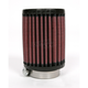 Universal Round/Straight Clamp-On Air Filter - 3 in. Diameter x 4 in. Long - RU-0400