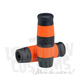 Black and Orange Stripe Flying Monkey Grips - 004082