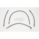 4 Line Stainless Steel Braided Oil Line Kit - 0711-0036