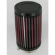 Universal Round/Straight Clamp-On Air Filter - 3 in. Diameter x 5 in. Long - RU-0210