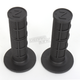 Black Half Waffle Medium Compound Grips - HW-103