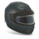 Gloss Black Arrow Snow Helmet w/Electric Shield