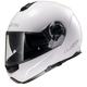 White Strobe FF325 Modular Helmet with Sunshield