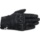 Black Celer Leather Gloves