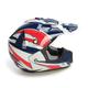 Blue/White/Red FX-17 Lone Star Helmet