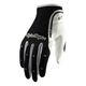 Womens Black/White XC Gloves
