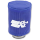 Blue Round Straight Drycharger Air Filter Wrap - RA-0510DB