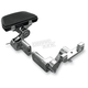 Adjustable Passenger Floorboard Mounts - HDPBLA