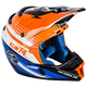 Blue/White/Orange F4 Circuit Helmet