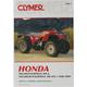 Honda TRX300 Fourtrax Repair Manual - M346-3