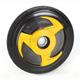 Yellow Idler Wheel w/Bearing - 04-1178-28