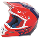 Red/Blue/White F2 Carbon Pure Helmet