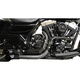Black Fusion Exhaust System w/Black Heat Shields and Tips - LA-F100-00B