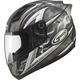 Titanium/Silver GM69S Platinum Series Crusader 2 Helmet