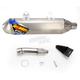 Titanium Factory 4.1 RCT SL Slip-On Muffler w/Titanium End Cap - 045559