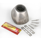 Replacement Titanium Rear Cone Cap for Factory 4.1 Exhaust - RCT - 040642