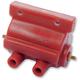 Red 2.8 ohm Supervolt 12v Ignition Coil - 237240