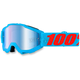 Youth Acidulous Cyan Accuri Goggle w/Mirror Blue Lens - 50310-161-02