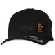 Black Curved Bill  Hat