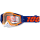 Derestricted Orange Racecraft Goggle w/Clear Lens - 50100-150-02