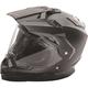 Matte Black Trekker Helmet