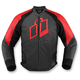 Red Hypersport Leather Jacket