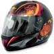 Orange Stunt FX-95 Helmet