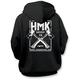 Black Cross Pullover Hoody