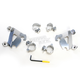 Polished Trigger-Lock Hardware Kit for Cafe Fairing - MEK1997