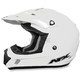 Youth White FX-17 Helmet