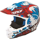 Red/Blue HMK Stamp F2 Carbon Helmet