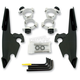 Black No-Tool Trigger-Lock Hardware Kits for Fats/Slim - MEB1986