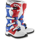White/Red/Blue Tech 5 Boots