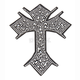 Celtic Cross Helmet Bling - PCHBCELTIC
