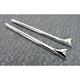 Chrome Fishtail Mufflers - 30-0137